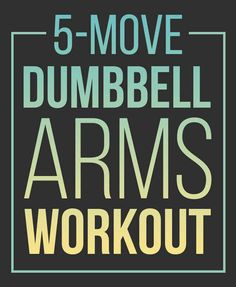 Here's An Amazing And Simple Dumbbell Workout For Your Arms