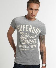 Superdry Twin Wing T-shirt - Men's T Shirts
