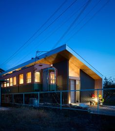 Founder of Kobe-based studio Container Design Takanobu Kishimoto created the single-storey house – named Platform – for a suburban site in Takasago, a coastal city in Hyogo Prefecture | deezeen