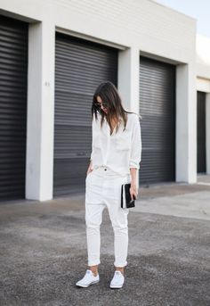 In Ivory.via modernlegacy #Streetstyle