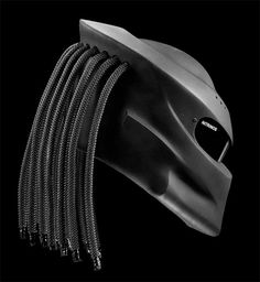 Predator 2 Helmet Don't know if i will wear it on my motorcycle .but it's look fun ! Tricycle, Yzf R125, Predator 2, Motorcycle Helmets, How To Wear, Bikers, Creepy, Barbie, Technology