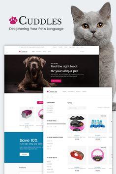 WooCommerce шаблон #65909 на тему собаки от TemplateMonster. Простой в работе шаблон с круглосуточной русскоязычной поддер�...