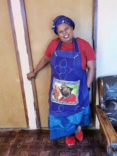 Xhosa Attire, Shweshwe Dresses, Clothing Styles, African, Fashion Outfits, Traditional, How To Wear, Clothes, Outfits