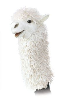 Folkmanis Alpaca Stage Puppet, 2015 Amazon Top Rated Hand Puppets #Toy