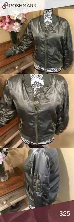 Can't get cuter bomber jacket See above Charlotte Russe Jackets & Coats