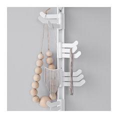 ALGOT Vægstolpe/spejl/tredobbelt krog  - IKEA