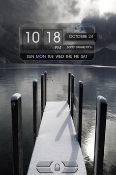 LS MON931 iPhone 4 theme