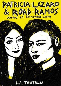 Patricia Lázaro y Road Ramos