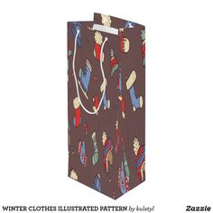 Get full color Winter gift bags from Zazzle. Each one of our gift bags is decorated with fantastic designs, images, or artwork. Winter Clothes, Winter Outfits, Christmas Design, Gift Bags, Illustration, Artwork, Cute, Pattern, Gifts