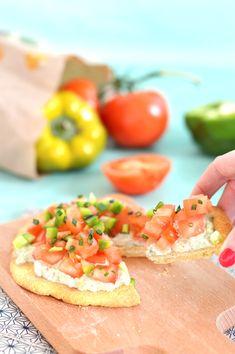 Mini Pizza #Vegan & Sans Gluten avec Tartinade de Cajou et Légumes Crus // #recette @ sweetandsour.fr