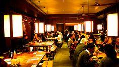 Busaba Eathai  Fantastic Thai restaurant chain located all across London (and in Oxfordshire).  http://busaba.com/