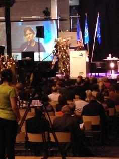 """Ammatillisen koulutuksen suurseminaarissa kuultiin opetusministeri Krista Kiurua. """"Miten koulutusjärjestelmää kehitetään, jotta päästään kohti """"maailman osaavin kansa 2020"""" - tavoitetta"""""""