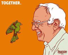 Birdie Sanders in Portland | Bernie Sanders https://youtu.be/vhezYYiTUm0