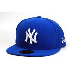New Era Yankees Basic Cap - Blue Azure