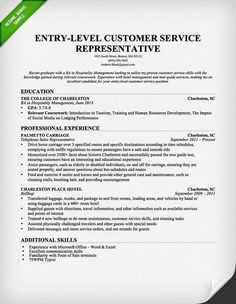 objective for entry level resume entry level customer service representative resume template