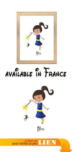 Miniz & Vous - Blue / illustration personnalisée, Fée.  #Guild Product #GUILD_HOME