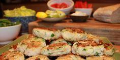 Prawn and Haricot Bean Patties Prawn, Paella, Healthy Living, Foundation, Vegetarian, Healthy Recipes, Meals