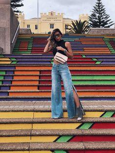 Vanessa Vasconcelos (Decor e Salto Alto) para Mariana Amaral Acessórios  vestindo os acessórios da Coleção Luminosa - Outono Inverno 2018. 6669c3ac130