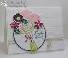 Stampin' Up! Beautiful Bouquet for Fab Friday – Stamp With Amy K