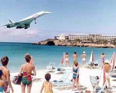 Presidential Concorde F-BVFF at Princess Juliana - St. Maarten (SXM)