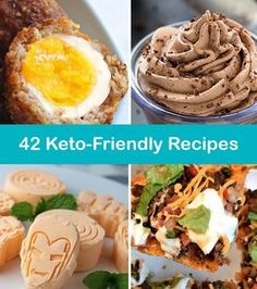 42 keto recipes that included snacks, mains and deserts. We've listed the macros of every recipe, allowing you to stick to your low-carb, high fat goals.