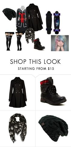 """""""Escola"""" by vivi-br ❤ liked on Polyvore featuring Ted Baker, Rock & Candy and Alexander McQueen"""