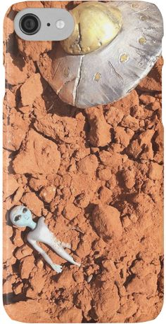 The Roswell UFO Crashed In Dirt by SweetDominique