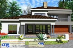 Overall Dimensions- x m Bathrooms- 3 Car Garage Area- Square meters Round House Plans, Tuscan House Plans, My House Plans, Family House Plans, Bedroom House Plans, Double Storey House Plans, Double Story House, Two Story House Design, Exterior House Colors Combinations