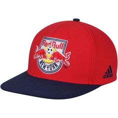 d9025d9ee36 Men s New York Red Bulls adidas Red Navy Two-Tone Adjustable Snapback Hat