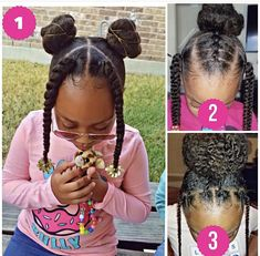 Which one of these adorable styles from is your favorite? … Which one of these adorable styles from is your favorite? Cute Little Girl Hairstyles, Little Girl Braids, Girls Natural Hairstyles, Natural Hairstyles For Kids, Baby Girl Hairstyles, Kids Braided Hairstyles, Braids For Kids, Girls Braids, Natural Hair Styles