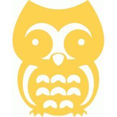 Silhouette Design Store View Design 12228 Owl Cutout
