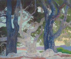 Pinos de Formentor, 1925, Hermenegildo Anglada Camarasa. Spanish (1872 - 1959) #tree #art