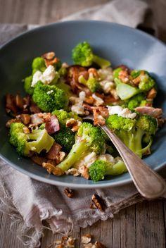 Sweet Pixel: Brokolice se slaninou, mozzarelou a ořechy