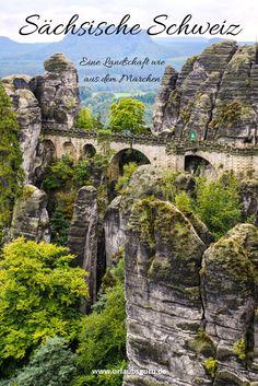 Die Sächsische Schweiz gehört zu den wohl schönsten Landschaften, die Deutschland zu bieten hat. Wie aus einem Märchen entsprungen wirkt diese einmalige Landschaft.