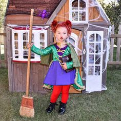 Winnifred Girl Costume, Sanderson Sisters Costumes Hocus Pocus Halloween Costumes, Kids Witch Costume, Halloween Costumes For Girls, Handmade Halloween Costumes, Sister Costumes, Girl Costumes, Costume Ideas, Group Costumes, Toddler Girl Halloween