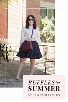 Style by Courtney - Ruffles with Red Dress Boutique