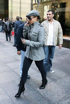 alicia keys style | Alicia Keys was spotted Victoria Beckham style in New York. I'd kill ...