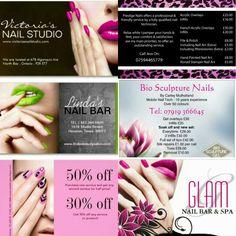 nail flyer graphic design logos pinterest logos and brochures