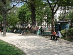 Square des Batignolles - Paris