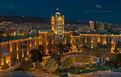 #MustSeeIran کاخ شهرداری #تبریز یکی از بناهای #زیبا مستحکم و دیدنی #شهر تبریز استان آذربايجان شرقى Sa'at #Tower also known as #Tabriz #Municipality #Palace is the #city hall and main office of the municipal government of Tabriz East #Azarbaijan Province #Iran. کاخ شهرداری تبریز دارای یک برج ساعت چهارصفحهای بهارتفاع متر است که با طنین موزون زنگهایش هر دقیقه یکبار گذشت زمان را به گوش مردم تبریز میرساند. Photo by @f.ahmadpour #MustSeeIran #ماباهميم by mustseeiran_insta