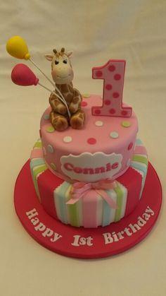 1st Birthday Cake #cavendishcakes