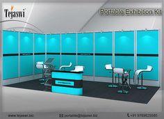 Portable Exhibition Kit Store Maharashtra : Best portable exhibition stall kit portable flexible