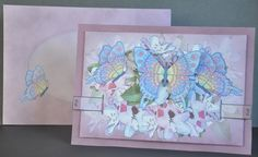 3D Butterflies Animated Moveable Decoupage Card Kit Gallery - CraftsuPrint