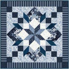 Windham Fabrics Azul Azure Quilt Kit