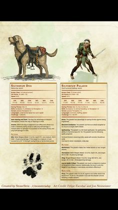 Characters 5th edition