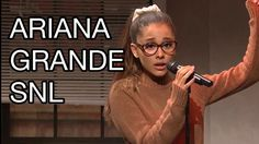 Ariana Grande Saturday Night Live (SNL) Tidal Skit: Rihanna, Britney Spears Impressions #SNL #Music #ArianaGrande Ariana Grande Snl, Rihanna Work, Snl Saturday Night Live, Videos, Amazing, Fashion, Moda, Fashion Styles, Fashion Illustrations