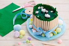 How to Make an Easter Meadow Bonnet - Hobbycraft Blog
