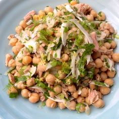 Tins of tuna and chickpeas have pretty much always been essential standby pantry items in my kitchen. They come in handy and are so very versatile when the cupboard is almost bare and I need to pul...