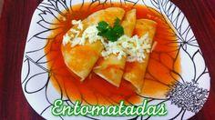 Ricas Entomatadas de Durango, receta facil, rapida y economica para esta...