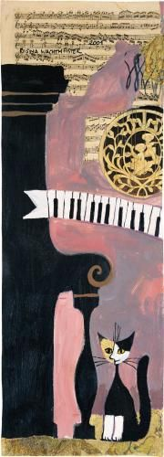 """""""Musique Triosonate I"""" by Rosina Wachtmeister"""